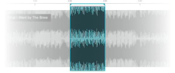 15 second audio clip music production editing
